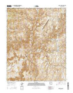 Great Spring Arizona Current topographic map, 1:24000 scale, 7.5 X 7.5 Minute, Year 2014 from Arizona Map Store