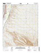Green Valley Arizona Current topographic map, 1:24000 scale, 7.5 X 7.5 Minute, Year 2014 from Arizona Map Store