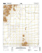 Greene Reservoir Arizona Current topographic map, 1:24000 scale, 7.5 X 7.5 Minute, Year 2014 from Arizona Map Store