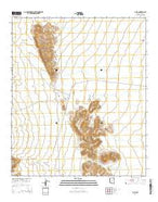 Gu Vo Arizona Current topographic map, 1:24000 scale, 7.5 X 7.5 Minute, Year 2014 from Arizona Map Store