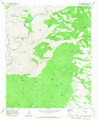 Haystack Butte Arizona Historical topographic map, 1:24000 scale, 7.5 X 7.5 Minute, Year 1966