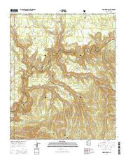 Hoodoo Knoll Arizona Current topographic map, 1:24000 scale, 7.5 X 7.5 Minute, Year 2014 from Arizona Maps Store