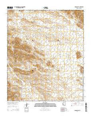 Hoodoo Well Arizona Current topographic map, 1:24000 scale, 7.5 X 7.5 Minute, Year 2014 from Arizona Maps Store