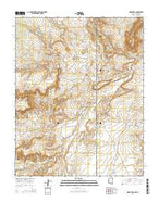 Horse Mesa Arizona Current topographic map, 1:24000 scale, 7.5 X 7.5 Minute, Year 2014 from Arizona Map Store