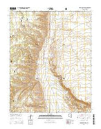 House Rock Spring Arizona Current topographic map, 1:24000 scale, 7.5 X 7.5 Minute, Year 2014 from Arizona Map Store