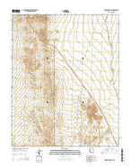 Housholder Pass Arizona Current topographic map, 1:24000 scale, 7.5 X 7.5 Minute, Year 2014 from Arizona Map Store