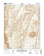 Howard Hill Arizona Current topographic map, 1:24000 scale, 7.5 X 7.5 Minute, Year 2014 from Arizona Map Store