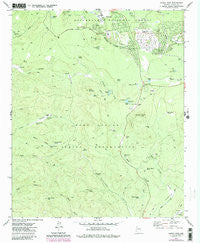 Indian Pine Arizona Historical topographic map, 1:24000 scale, 7.5 X 7.5 Minute, Year 1977