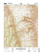 Kane Ranch Arizona Current topographic map, 1:24000 scale, 7.5 X 7.5 Minute, Year 2014 from Arizona Map Store