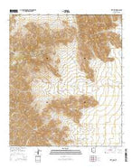 Kitt Peak Arizona Current topographic map, 1:24000 scale, 7.5 X 7.5 Minute, Year 2014 from Arizona Map Store