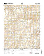 Klagetoh North Arizona Current topographic map, 1:24000 scale, 7.5 X 7.5 Minute, Year 2014 from Arizona Map Store
