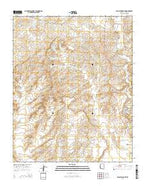 Klagetoh South Arizona Current topographic map, 1:24000 scale, 7.5 X 7.5 Minute, Year 2014 from Arizona Map Store
