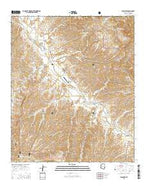 Klondyke Arizona Current topographic map, 1:24000 scale, 7.5 X 7.5 Minute, Year 2014 from Arizona Map Store