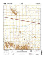 Lone Mountain Arizona Current topographic map, 1:24000 scale, 7.5 X 7.5 Minute, Year 2014 from Arizona Map Store