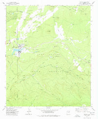 McNary Arizona Historical topographic map, 1:24000 scale, 7.5 X 7.5 Minute, Year 1977