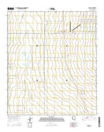 McNeal Arizona Current topographic map, 1:24000 scale, 7.5 X 7.5 Minute, Year 2014 from Arizona Map Store