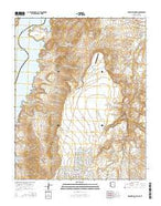 Meadview North Arizona Current topographic map, 1:24000 scale, 7.5 X 7.5 Minute, Year 2014 from Arizona Map Store