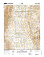 Meadview South Arizona Current topographic map, 1:24000 scale, 7.5 X 7.5 Minute, Year 2014 from Arizona Map Store