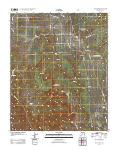 Meath Spring Arizona Historical topographic map, 1:24000 scale, 7.5 X 7.5 Minute, Year 2012