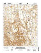 Meath Spring Arizona Current topographic map, 1:24000 scale, 7.5 X 7.5 Minute, Year 2014 from Arizona Map Store