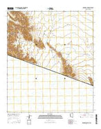 Menagers Lake Arizona Current topographic map, 1:24000 scale, 7.5 X 7.5 Minute, Year 2014 from Arizona Map Store