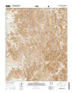 Mineral Mountain Arizona Current topographic map, 1:24000 scale, 7.5 X 7.5 Minute, Year 2014 from Arizona Map Store