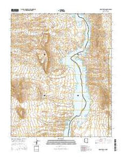 Mount Davis Arizona Current topographic map, 1:24000 scale, 7.5 X 7.5 Minute, Year 2014 from Arizona Maps Store