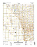 Needles NE Arizona Current topographic map, 1:24000 scale, 7.5 X 7.5 Minute, Year 2014 from Arizona Map Store