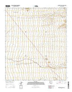 Ninetysix Hills SW Arizona Current topographic map, 1:24000 scale, 7.5 X 7.5 Minute, Year 2014 from Arizona Map Store