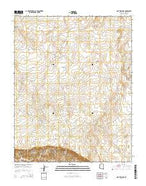 One Toe Ridge Arizona Current topographic map, 1:24000 scale, 7.5 X 7.5 Minute, Year 2014 from Arizona Map Store