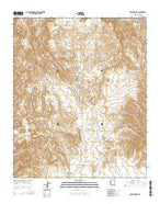 Osborne Well Arizona Current topographic map, 1:24000 scale, 7.5 X 7.5 Minute, Year 2014 from Arizona Map Store