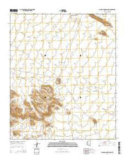 Palomas Mountains NE Arizona Current topographic map, 1:24000 scale, 7.5 X 7.5 Minute, Year 2014 from Arizona Maps Store