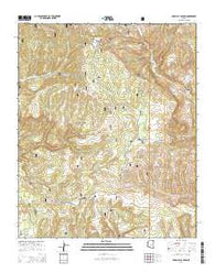 Parallel Canyon Arizona Current topographic map, 1:24000 scale, 7.5 X 7.5 Minute, Year 2014