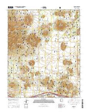Parks Arizona Current topographic map, 1:24000 scale, 7.5 X 7.5 Minute, Year 2014 from Arizona Maps Store
