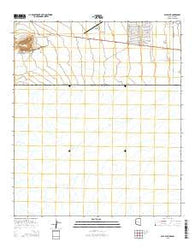 Paul Spur Arizona Current topographic map, 1:24000 scale, 7.5 X 7.5 Minute, Year 2014