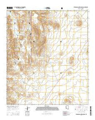 Pedregosa Mountains East Arizona Current topographic map, 1:24000 scale, 7.5 X 7.5 Minute, Year 2014