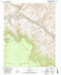 Phantom Ranch Arizona Historical topographic map, 1:24000 scale, 7.5 X 7.5 Minute, Year 1988