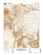 Picacho Butte Arizona Current topographic map, 1:24000 scale, 7.5 X 7.5 Minute, Year 2014 from Arizona Map Store