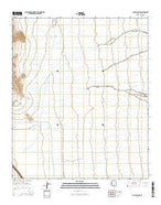 Picacho Pass Arizona Current topographic map, 1:24000 scale, 7.5 X 7.5 Minute, Year 2014 from Arizona Map Store