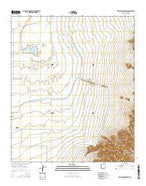 Picacho Reservoir Arizona Current topographic map, 1:24000 scale, 7.5 X 7.5 Minute, Year 2014 from Arizona Map Store