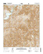 Pinyon Mountain Arizona Current topographic map, 1:24000 scale, 7.5 X 7.5 Minute, Year 2014 from Arizona Map Store