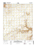 Pipe Spring Arizona Current topographic map, 1:24000 scale, 7.5 X 7.5 Minute, Year 2014 from Arizona Map Store