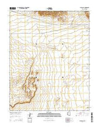 Pipe Valley Arizona Current topographic map, 1:24000 scale, 7.5 X 7.5 Minute, Year 2014