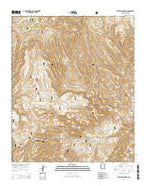 Pipestem Mountain Arizona Current topographic map, 1:24000 scale, 7.5 X 7.5 Minute, Year 2014 from Arizona Map Store