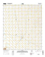 Pisinimo Arizona Current topographic map, 1:24000 scale, 7.5 X 7.5 Minute, Year 2014 from Arizona Map Store