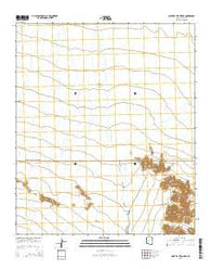 Point of the Pintas Arizona Current topographic map, 1:24000 scale, 7.5 X 7.5 Minute, Year 2014
