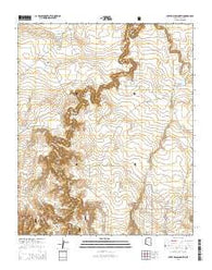Potato Wash North Arizona Current topographic map, 1:24000 scale, 7.5 X 7.5 Minute, Year 2014