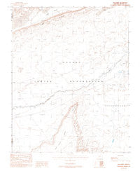 Red Point Arizona Historical topographic map, 1:24000 scale, 7.5 X 7.5 Minute, Year 1988