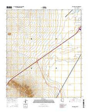 Red Bird Hills Arizona Current topographic map, 1:24000 scale, 7.5 X 7.5 Minute, Year 2014 from Arizona Maps Store