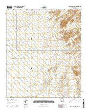 Red Bluff Mountain NW Arizona Current topographic map, 1:24000 scale, 7.5 X 7.5 Minute, Year 2014 from Arizona Maps Store